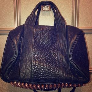 Black Alexander Wang Rocco Duffle Bag! 👜💕